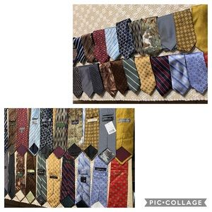24 different brands ties